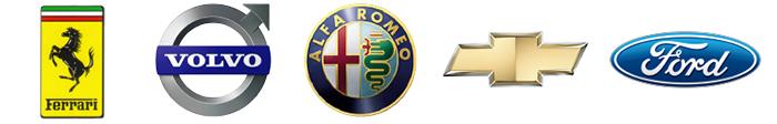松原オートの取り扱う輸入社のロゴ2